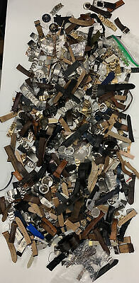 $20.50 • Buy 27 Lbs Of Authentic Fossil Watch Parts For Parts And Repairs Wholesale Z12