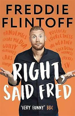 £1.90 • Buy Right, Said Fred By Andrew Flintoff (Hardcover, 2020)