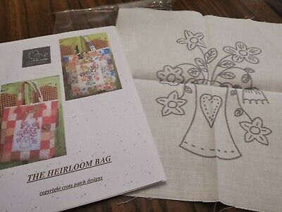 £1.75 • Buy The Heirloom Bag Sewing Pattern Instruction Book And Printed Square Patchwork