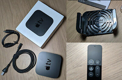 AU56.91 • Buy Apple TV 4k 32GB + Remote + TotalMount Mounting Bracket + HDMI Cable