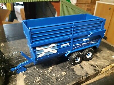 £45 • Buy Rare Britains Conversion  Stewart Silage Trailer For Tractor Siku