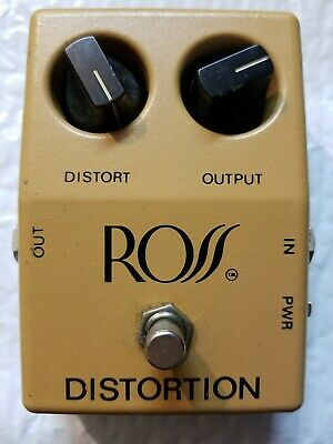 $ CDN125.38 • Buy Ross R-50 Distortion Overdrive Tan Rare Vintage Guitar Effect Pedal Made In USA
