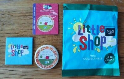 £2 • Buy M&S Little Shop Mini Collectable Taste Buds Cheesy Pizza