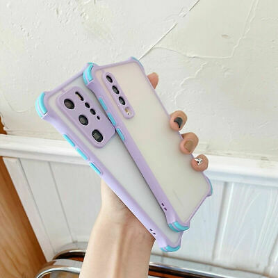 AU8.76 • Buy Shockproof Matte Case For Samsung S20 S10 S9 S8 Plus A51 A71 Hard PC Back Cover