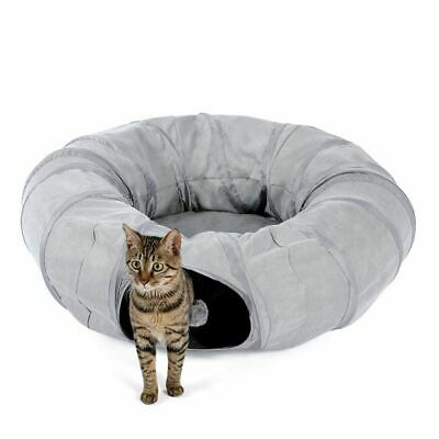 £43.62 • Buy Cat Tunnel Pet Play Toy Collapsible Tube Rabbit Toys Pet Bed Kitten Ball Nest