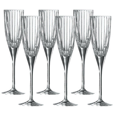 £35.90 • Buy Set Of 5 Royal Doulton 1815 Linear Champagne Flute