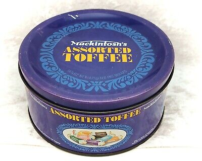 £14.39 • Buy Mackintosh's Assorted Toffee-Blue Vintage Sweet Tin