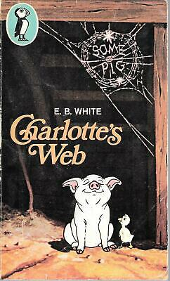 £7.92 • Buy Charlotte's Web Vintage 1979 Paperback Edition Puffin E.B White