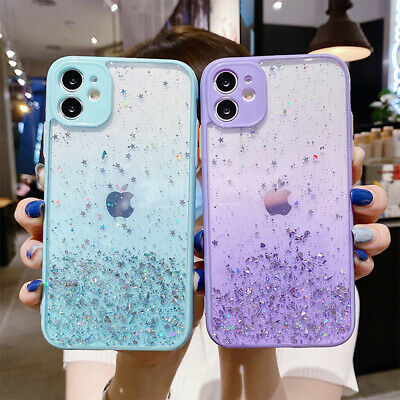 AU9.88 • Buy Case For IPhone 6 6S 7 8 Plus X XR XS 11 12 Pro Max Gradient Star Sky Hard Cover