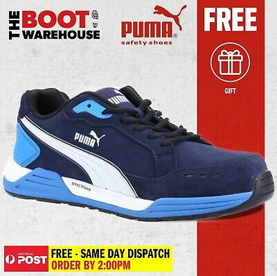 AU139.95 • Buy Puma AIRTWIST BLUE 644627 - Light Weight, Metal Free Safety Shoe / Jogger.
