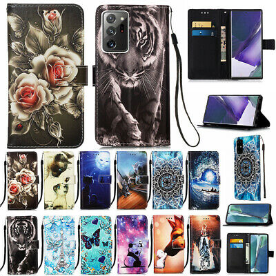 AU13.89 • Buy For Samsung Galaxy S21/S20 FE Note20 Ultra S10 S9 Plus Case Wallet Leather Cover