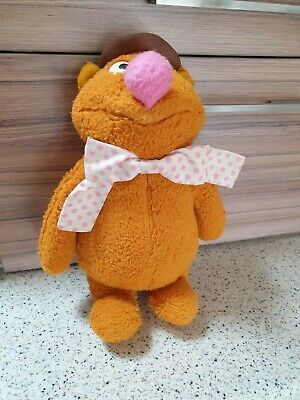 £19.99 • Buy Vintage Fozzie Bear The Muppets Doll Jim Henson 1970s 70s Soft Toy Fisher Price