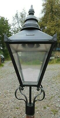 £195 • Buy Large Used Urbis Traditional Lamp Post Top