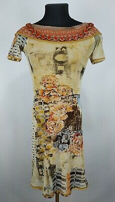 AU36.79 • Buy Save The Queen Womens Floral Print Midi Dress With Beads Size S