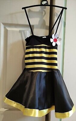 £9.99 • Buy Girls Bumble Bee Costume Dress Fancy Dress Up Outfit 122 - 134cm