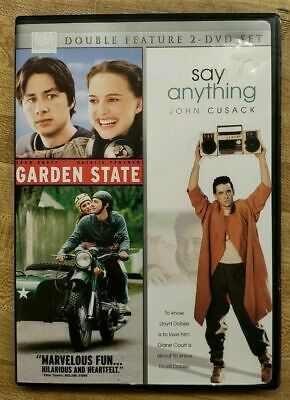 AU8.75 • Buy Double Feature: Garden State / Say Anything - DVD - VERY GOOD 2 DISC SET USA R 1