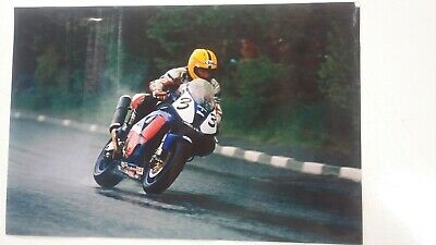 £9.99 • Buy Joey Dunlop Cookstown 100 Real Glossy Photograph 12 X 8 Inches NOT A PRINT