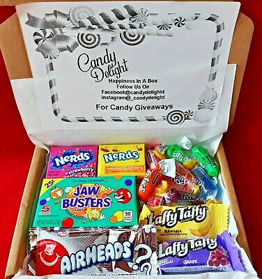 £3.45 • Buy American Candy Sweets Gift Box Personalised Message USA Pic N Mix Jolly Rancher