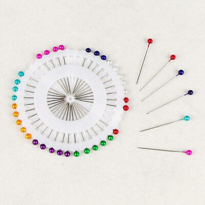 £1.99 • Buy Dressmaking Pins Fine Glass Head Tailors Pearl Quilting Sewing Craft Assorted UK