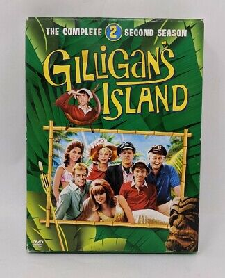 £5.78 • Buy Gilligans Island The Complete Second Season 2 Two  DVD Slipcase Excellent