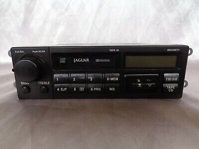 AU308.96 • Buy USED Partially Working JAGUAR XJS 93 94 RADIO Cassette Player DAC7614 WITH CODE