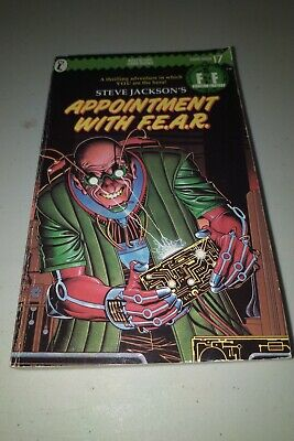 AU5.44 • Buy Fighting Fantasy Book - Puffin #17 - Appointment With F.E.A.R - ISBN: 0140319220