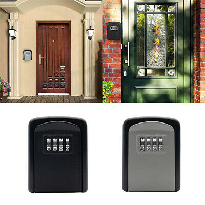 £8.29 • Buy High Security Wall Mounted Home Outdoor Key Safe Box Code Lock Storage 4 Digit