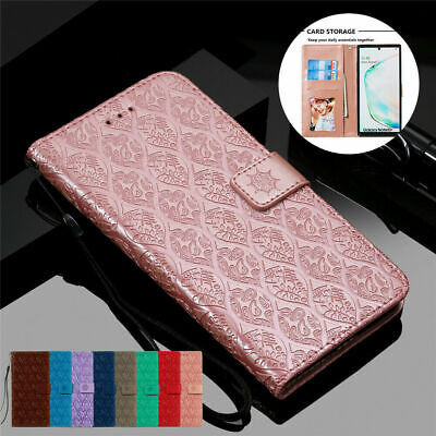 AU14.11 • Buy Leather Wallet Case For Samsung Galaxy Note 20 10 9 8 S20 S10 S9 S8 Flip Cover