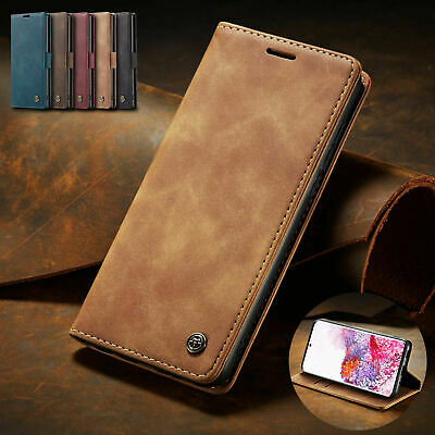 AU9.39 • Buy For Samsung S20 Ultra Note10 Plus S10 S9 S8 Flip Leather Wallet Phone Case Cover