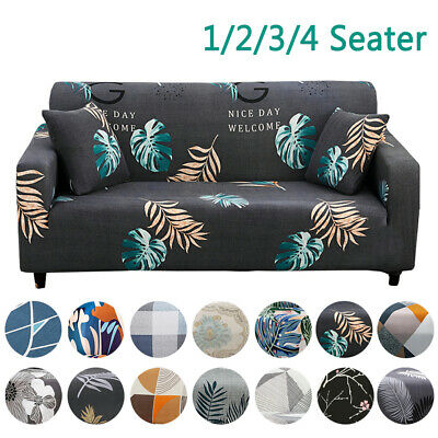 AU16.99 • Buy Stretch Sofa Covers Fitted Lounge Slipcover Protector Couch Cover 1 2 3 4 Seater