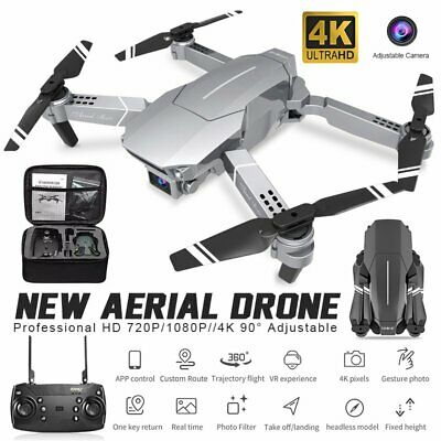 AU40.30 • Buy RC Drone 720/1080P HD Real-Time Camera Wifi FPV Live Foldable Quadcopter+Battery