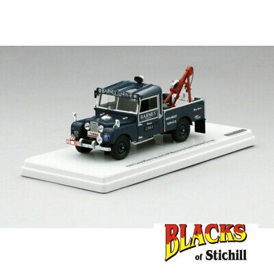 £94.99 • Buy TSM 1:43 Scale Land Rover Series 1 107 Barnes Garage Recovery Truck Blue Model