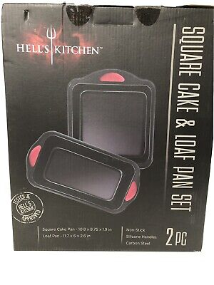 £10.90 • Buy Hell,s Kitchen Square Cake & Loaf Pan Set