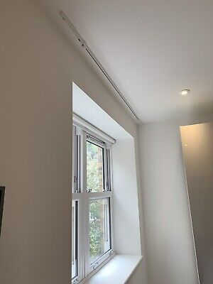 £50 • Buy Silent Gliss 6010 Curtain Track - White - 203cm - Wave System