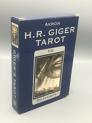 £180.57 • Buy Giger, H. R.; H.R. Giger Tarot Set With Cards; Perfect Paperback; First Edition