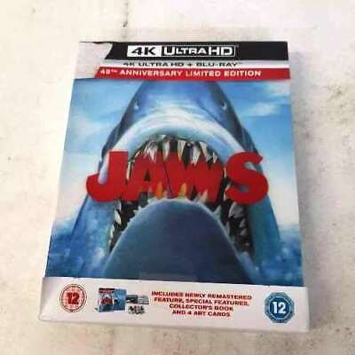 £29.99 • Buy Jaws - Zavvi Exclusive 4K Ultra HD Collector's Edition Steelbook IP 6 Lot H428