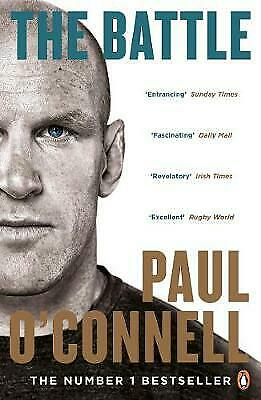 £7.99 • Buy The Battle By Paul O'Connell (Paperback) New Book, Rugby Autobiography