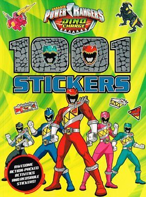 £4.99 • Buy Power Rangers Dino Charge 1001 Stickers (Paperback) Sticker Activity Book