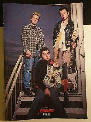 £5 • Buy GREEN DAY / CRADLE OF FILTH Kerrang! Magazine POSTER 1998