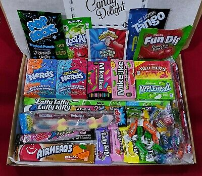 £7.99 • Buy American Candy Sweets Gift Box Personalised Message USA Pic N Mix Jolly Rancher