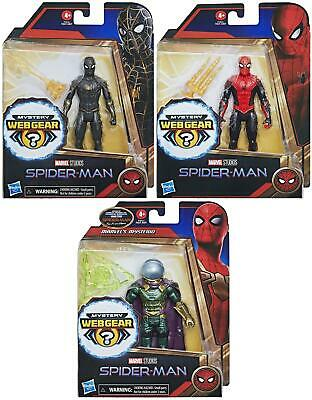 £15.49 • Buy Marvel Spiderman 6 Inch Action Figures With Mystery Web Gear Accessories