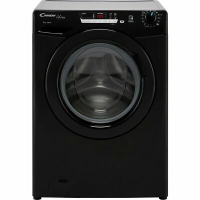 £249 • Buy Candy HCU1482DBBE/1 Ultra 8Kg 1400 RPM Washing Machine Black D Rated New