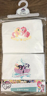 £3.99 • Buy My Little Pony Girls Vests 2 Pack Age 3-4 Years  New