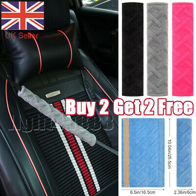 £2.70 • Buy Car Seat Strap Cover Pads Safety Belt Cushion Covers Harness Shoulder Pad UK