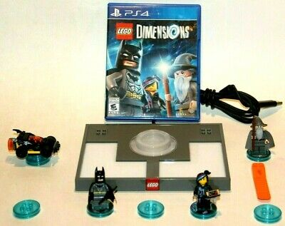 AU96.57 • Buy * LEGO® Dimensions Playstation 4 PS4 Starter Pack Lot + Extras 👾