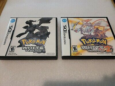 $249.99 • Buy Pokemon White Version 1 & 2 (DS - 2011/DS - 2012) CIB & Authentic (TESTED WORKS)