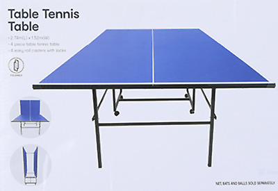 AU288.99 • Buy QLD WA ACT Only Foldable Table Tennis Table Ping Pong Table Family Game