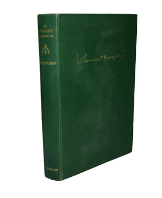 £11.40 • Buy Ashenden Or The British Agent By W Somerset Maugham 1936