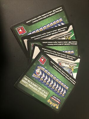 $1.65 • Buy Pokemon Trading Card Game Online Qr Card Codes Lot Of 5
