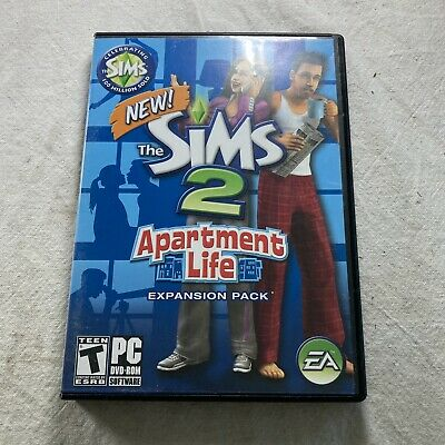 £12.88 • Buy Sims 2: Apartment Life Expansion Pack (PC, 2008) Complete W/ Manual
